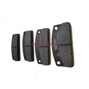 4 plaquettes de frein arriere microcar - 1002126
