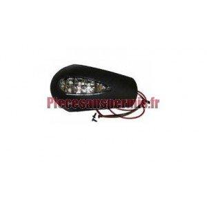 Cache avec led - clignotant pour retroviseur casalini m10